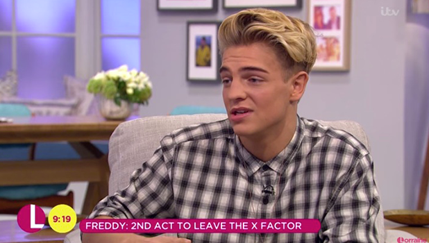 Freddy Parker on ITV's Lorraine, 17 October 2016