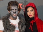 Love Island winners Cara de la Hoyde and Nathan Massey dress up for Halloween