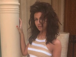 Michelle Keegan shows off bikini body while abroad - 27 October 2016