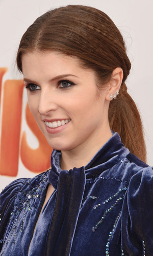 Actress Anna Kendrick attends the premiere of 20th Century Fox's 'Trolls' at the Regency Village Theater on October 23, 2016 in Westwood, California.