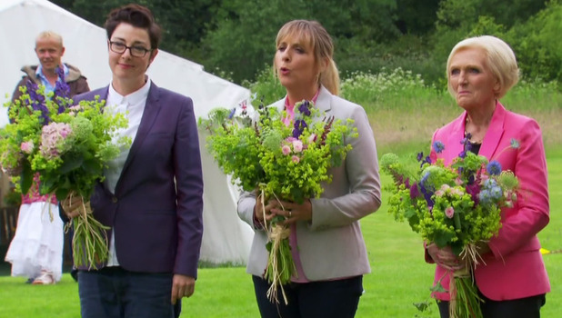Great British Bake Off Final: Mel Giedroyc, Sue Perkins, Mary Berry and Paul Hollywood 27 October