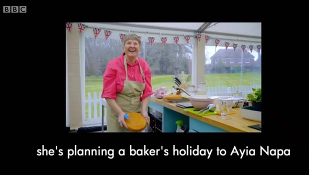 Val Stones, Great British Bake Off 26 October