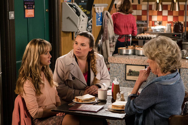 Corrie, Maria questioned, Wed 2 Nov