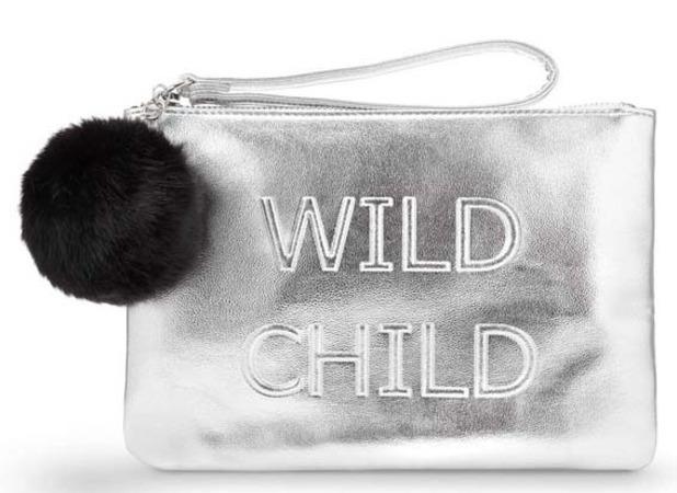 Miss Selfridge Wild Child Clutch Bag