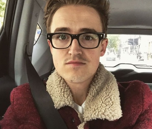 Tom Fletcher selfie on Instagram 26 October