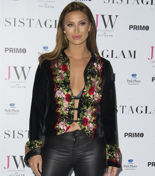 Ferne McCann attends the Sistaglam launch party, London 26 October 2016