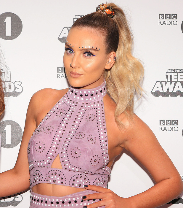 Little Mix star Perrie Edwards at the BBC Radio 1 Teen Awards, London, 24 October 2016