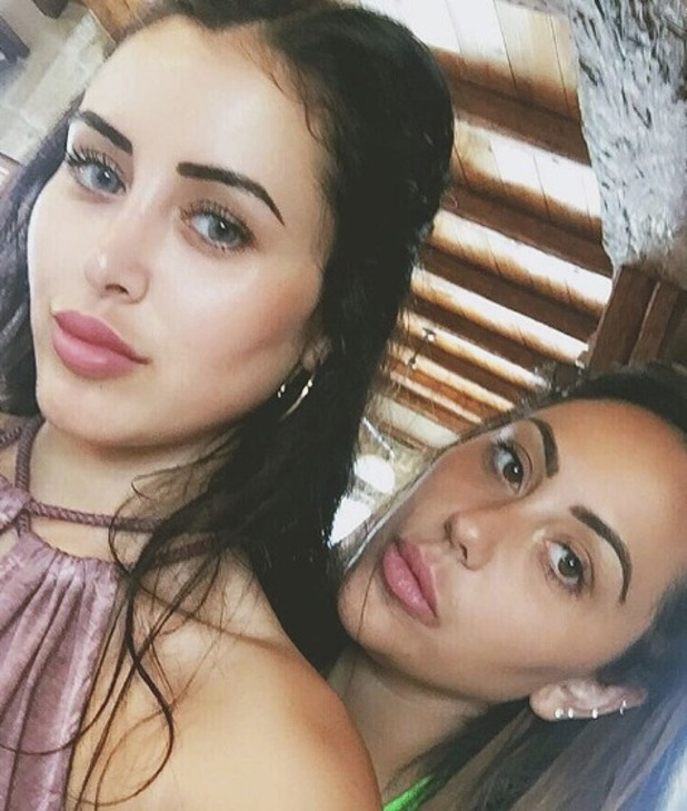 Marnie Simpson and Sophie Kasaei, Instagram 26 October