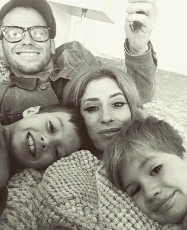 Stacey Solomon and Joe Swash with her sons, Instagram 24 October