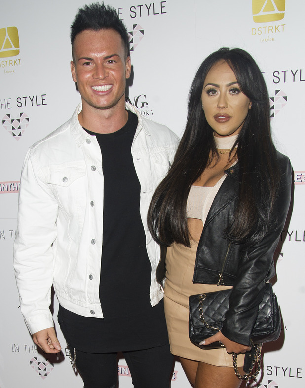 Sophie Kasaei and Joel Corry at In The Style AW16 launch, London