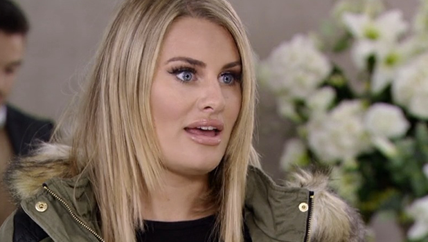 TOWIE: Danielle gives advice to Kate 26 October 2016