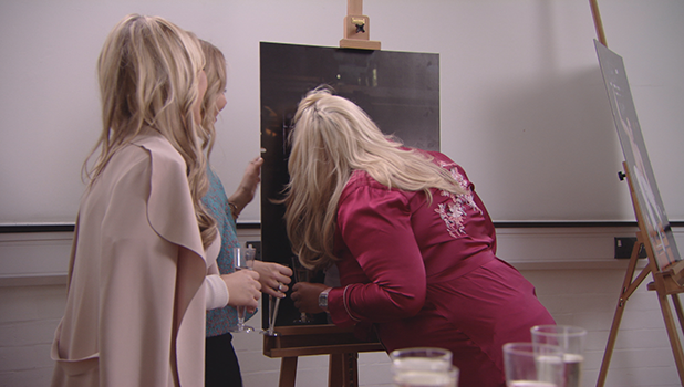 TOWIE: Gemma Collins kisses Jon Clark portrait Airing 26th October 2016