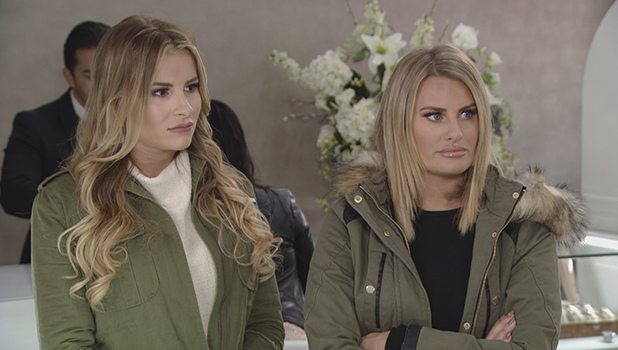 TOWIE: Danielle Armstrong and Georgia Kousoulou confront Dan Edgar about Kate Wright Airing 26th October 2016