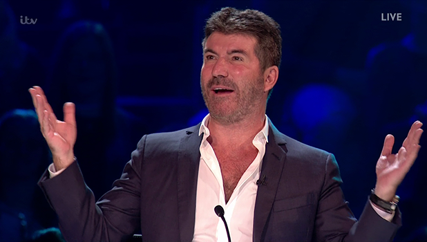 Simon Cowell on X Factor 2016 22 October