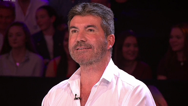 Simon Cowell and Nicole Scherzinger on Xtra Factor 23 October 2016