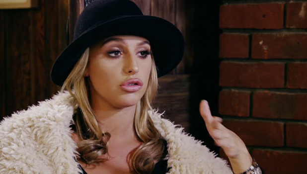 TOWIE: Amber Dowding talks to the girls 23 October 2016