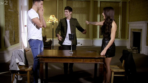 Love Island's Scott Thomas and Kady McDermott appear on Tricked: House of Horrors 27 October 2016