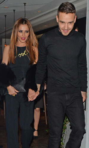 Cheryl and Liam Payne, London 9 March 2016