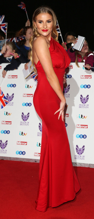 TOWIE star Georgia Kousoulou attends the Pride of Britain Awards, London, 31 October 2016