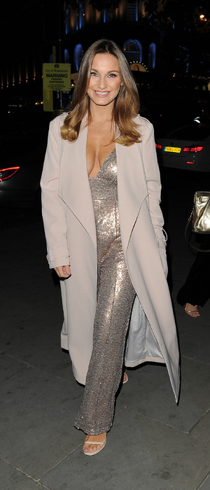 Sam Faiers attends private dinner with Rare London, London, 3 November 2016