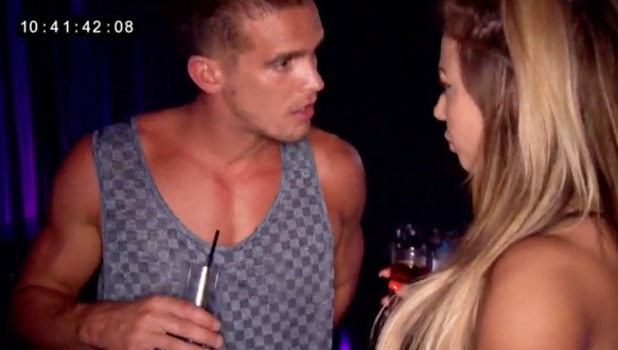 Geordie Shore: Gaz Beadle and Holly Hagan fall out over Charlotte Crosby 1 November