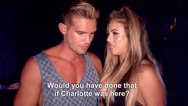 Holly Hagan and Gaz Beadle, Geordie Shore 1 November