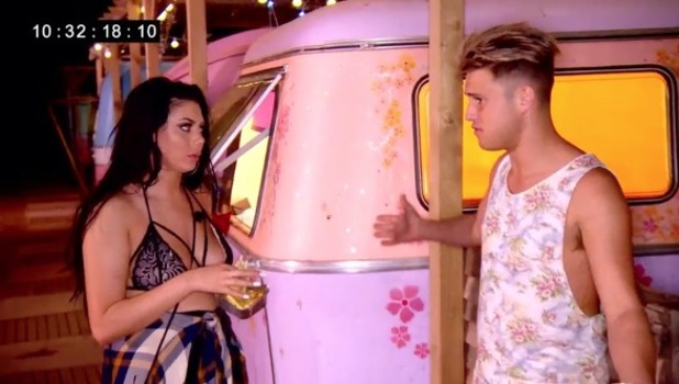 Geordie Shore: Chloe Ferry and Marty McKenna 1 November