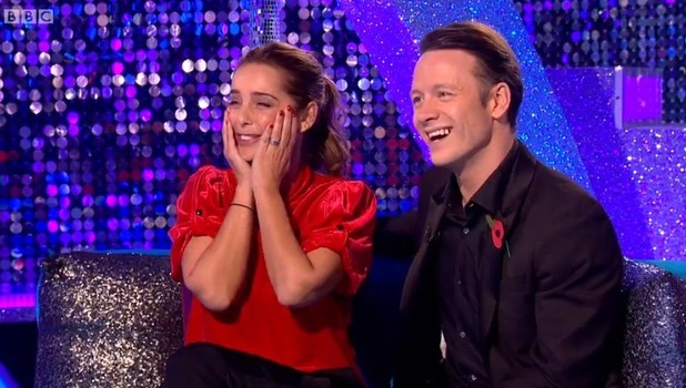 Louise Redknapp and Kevin Clifton, Strictly Come Dancing 2 November