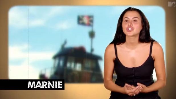 Geordie Shore: Marnie Simpson 31 October