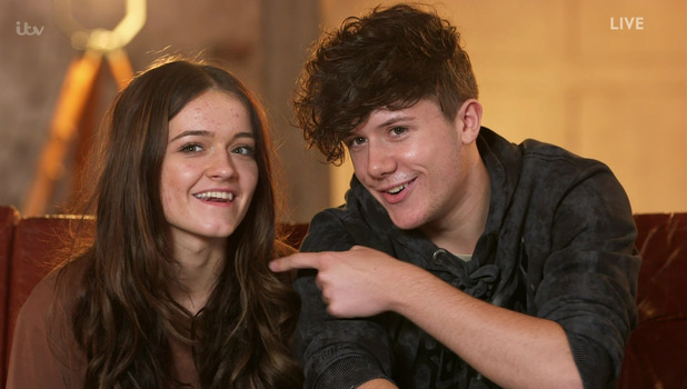 Ryan Lawrie and Emily Middlemas, X Factor 22 October