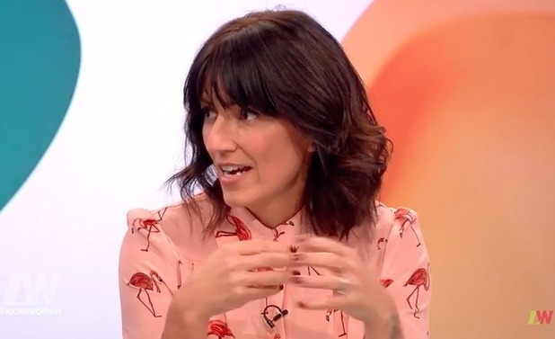 Davina McCall appears on Loose Women - 2 Nov 2016