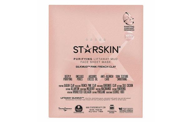 Starskin Liftaway Mud Face Sheet Mask £8.50 2 November 2016