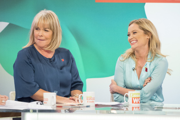 Laura Whitmore appears on Loose Women, ITV 3 November
