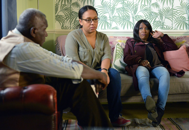 EastEnders, Libby unhappy with Denise's pregnancy, Tue 8 Nov