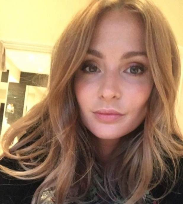 Millie Mackintosh selfie, 25 October 2016