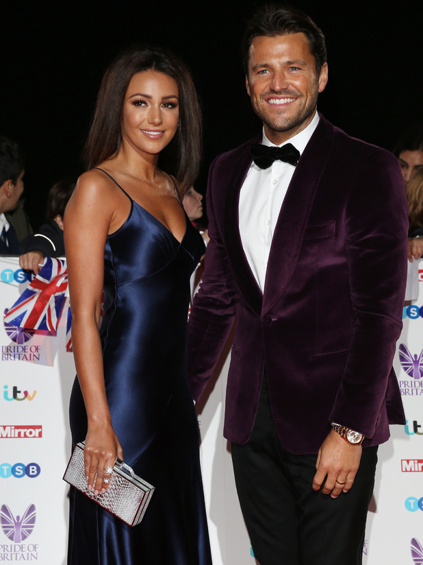 Mark Wright and Michelle Keegan at the Pride of Britain Awards, 2016 31 October
