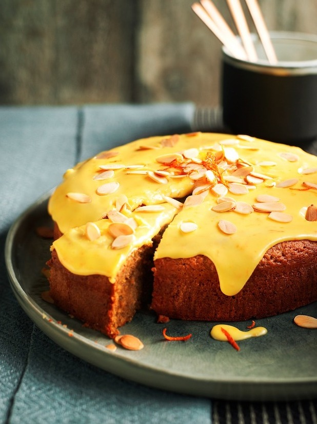 Signe Johansen's recipe for Spiced Almond Torte with a Clementine Glaze