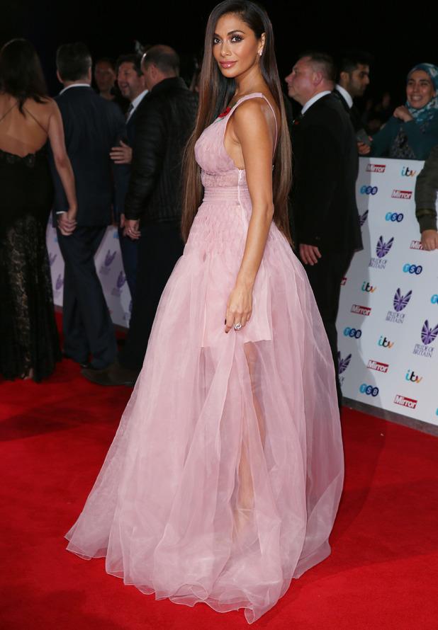 Nicole Scherzinger attends the Pride of Britain Awards, London, 31 October 2016