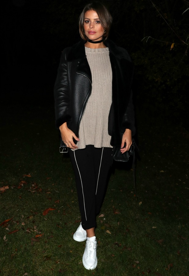 TOWIE's Chloe Lewis at Bonfire Night filming 1 November 2016