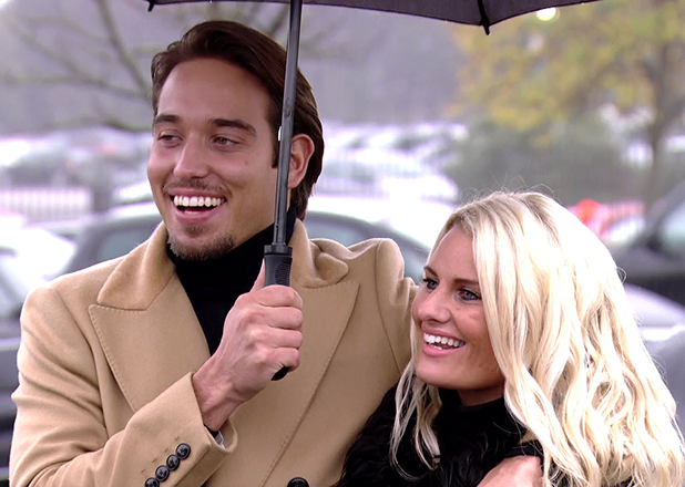 Danielle Armstrong and James Lock on TOWIE 2013