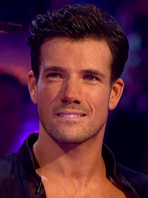 Danny Mac and Oti Mabuse perform for the judges on 'Strictly Come Dancing'. Broadcast on BBC OneHD
