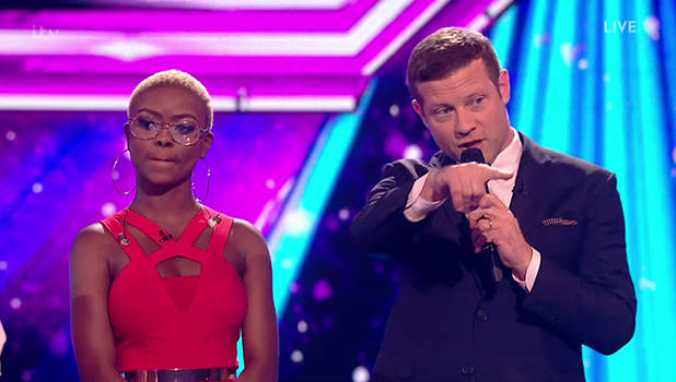 Gifty Louise loses her place in the competition after the judges vote on 'The X Factor: Results'. Broadcast on ITV1HD