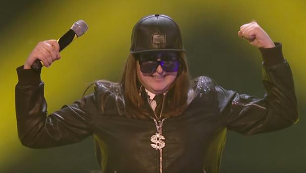 X Factor's Honey G performs Men In Black 30 October 2016