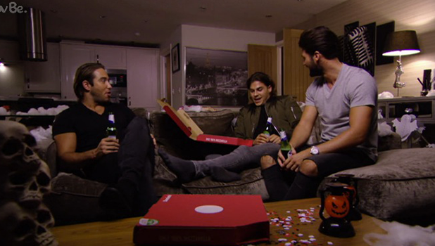 TOWIE: Lockie talks to Chris and Dan 30 October 2016