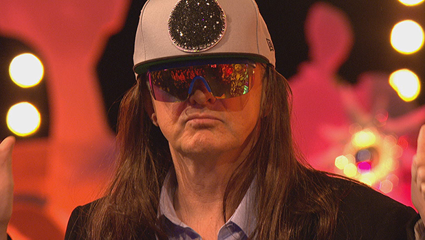 Louis Walsh becomes Honey G on Celebrity Juice
