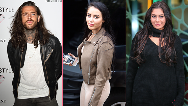Release The Hounds Famous & Freaked cast: Pete Wicks, Marnie Simpson, Chloe Ferry 2016, various