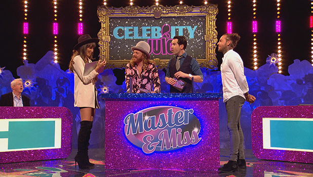 TOWIE's Megan McKenna and Pete Wicks on Celebrity Juice 2016