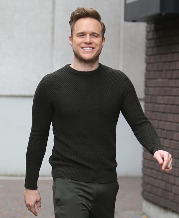 Olly Murs at ITV, 2016