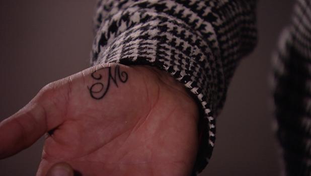 TOWIE's Pete Wicks gets an M tattoo for Megan McKenna 2016