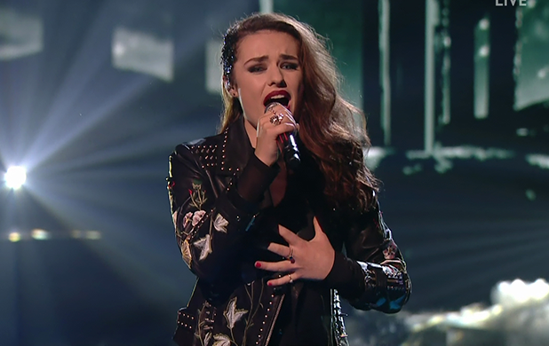 Sam Lavery performs for the judges on 'The X Factor'. Broadcast on ITV1 HD 2016